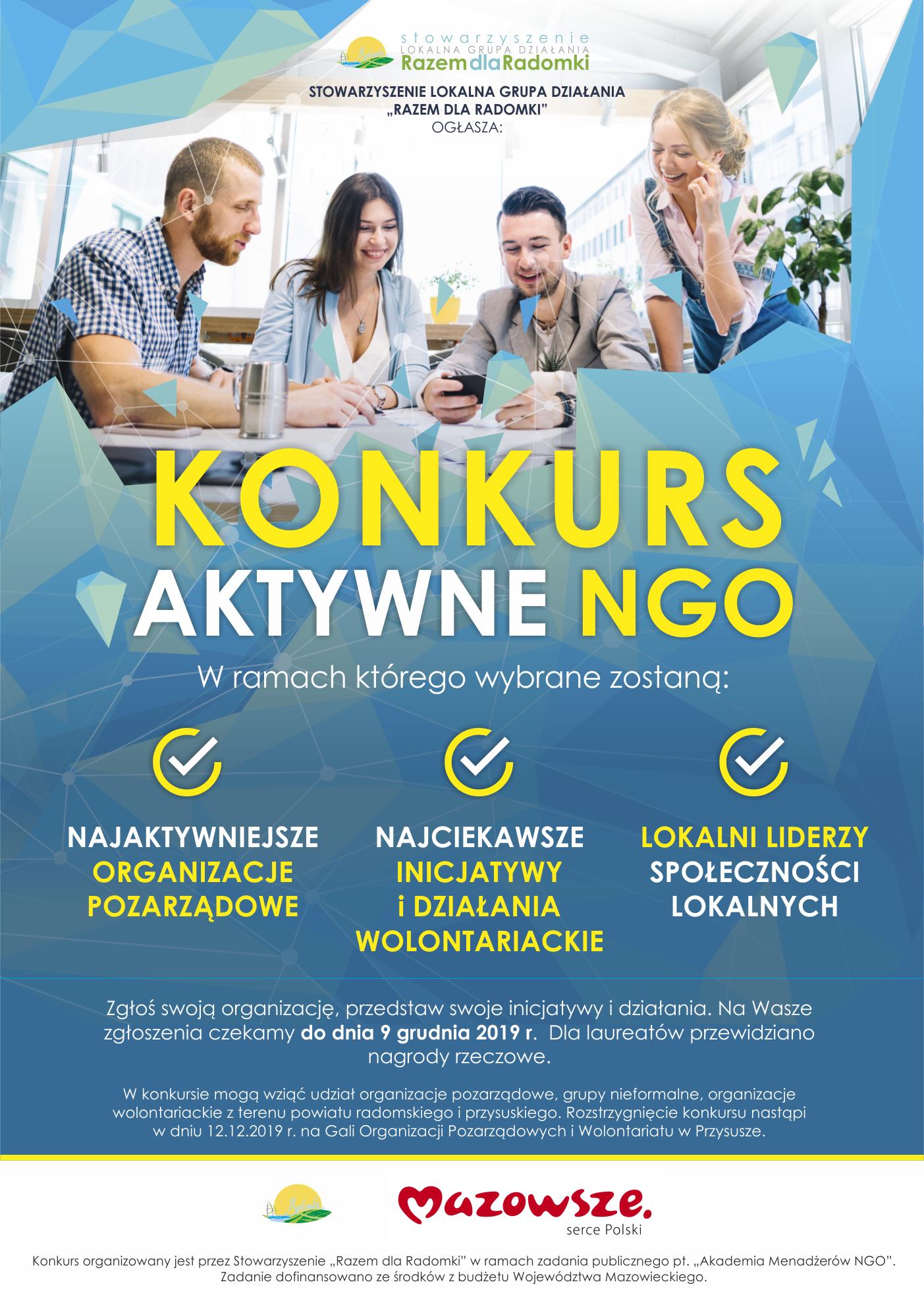 Konkurs Aktywne NGO
