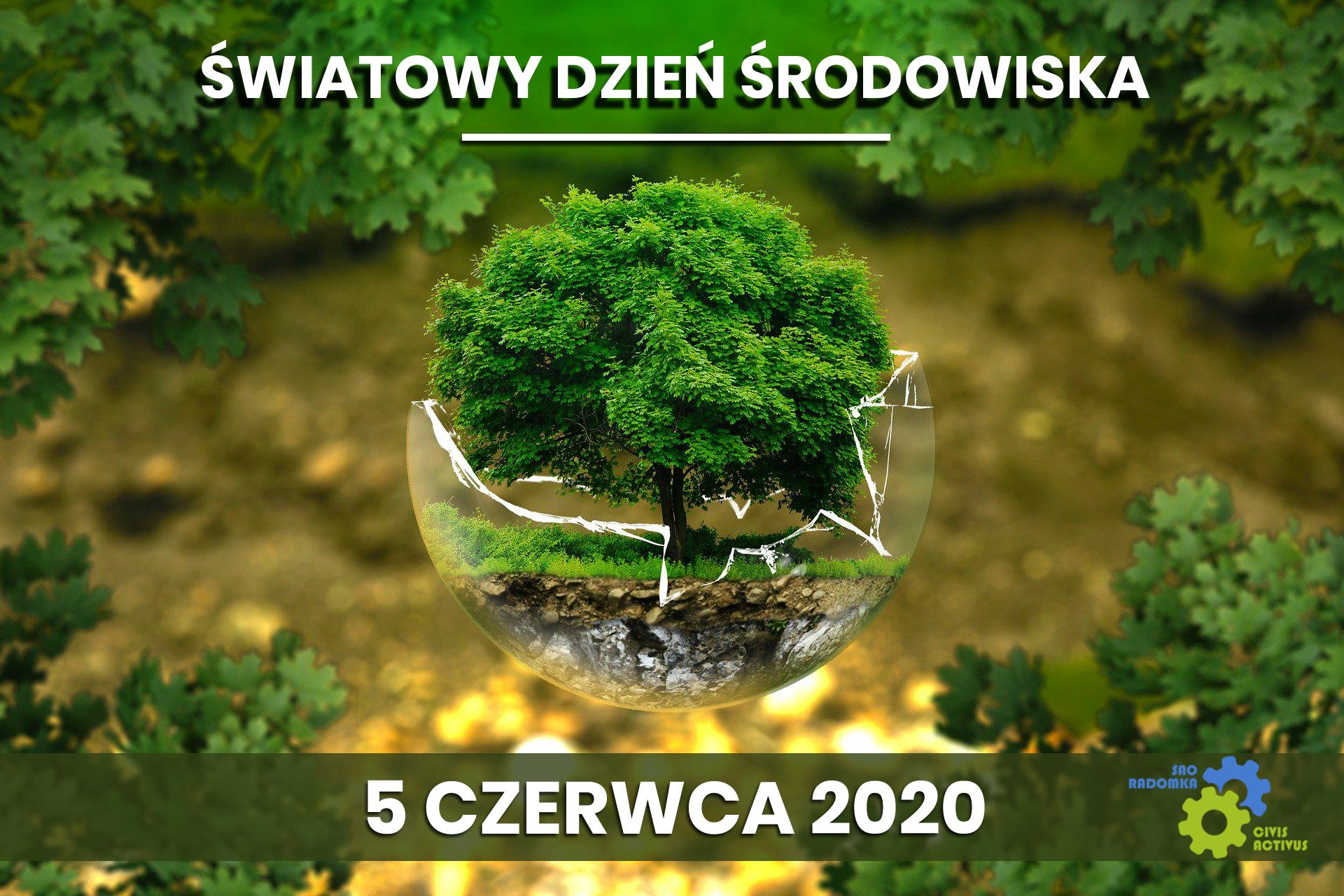 Plakat SAO RADOMKA Swiatowy Dzien Srodowiska