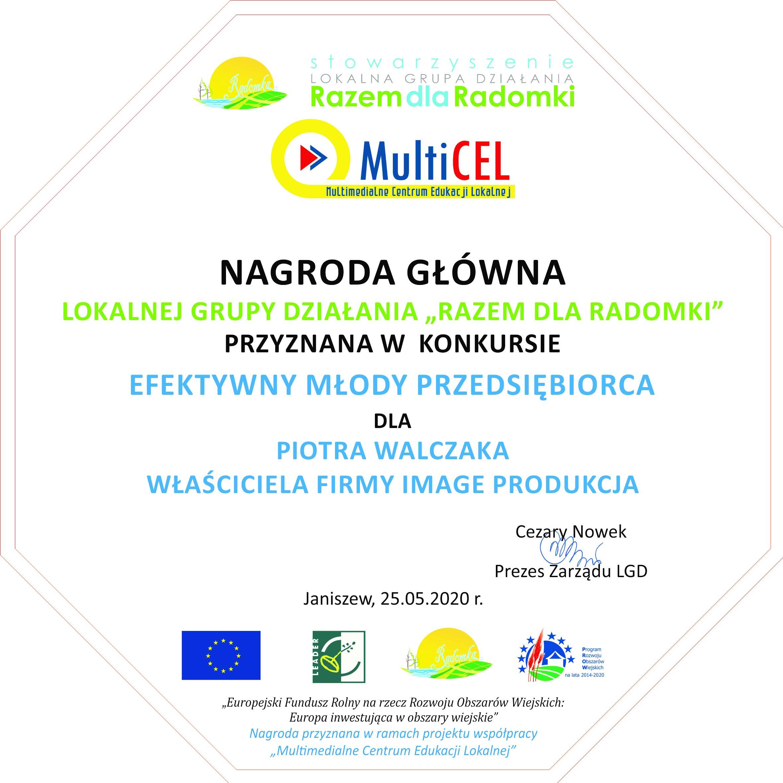 Laureat Piotr Walczak