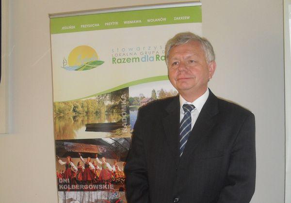 Cezary Nowek Prezes LGD Razem dla Radomko